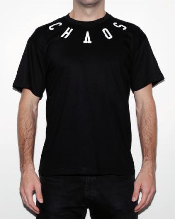 camiseta eibi chaos order negra
