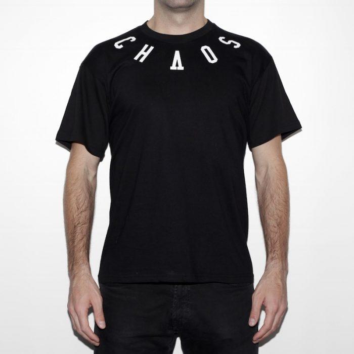 camiseta eibi chaos order negra front