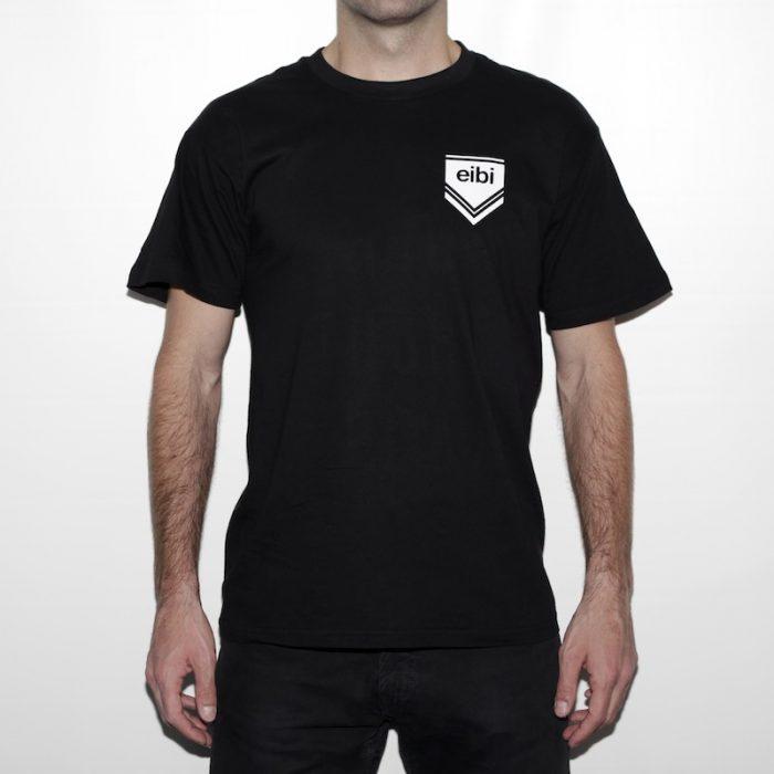 camiseta eibi no order front negra